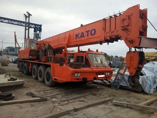 Автокран Kato NK-750 г/п 75 тонн - 1
