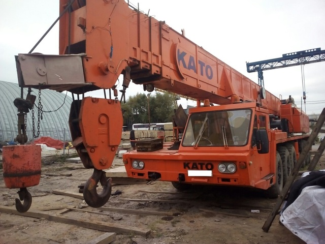 Автокран Kato NK-750 г/п 75 тонн - 2