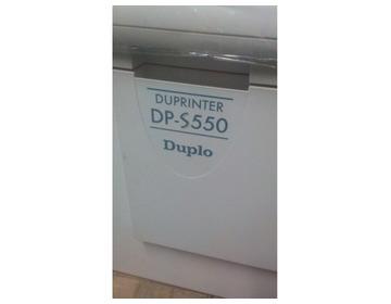 Профессиональный цифровой дупликатор,  DUPLO DP-S 550 HDI + - Изображение 2