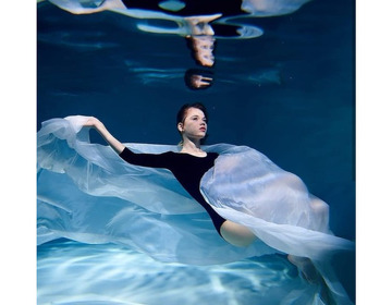 Бесплатная фотосессия под водой!