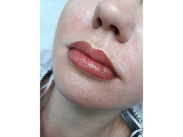 Наращивание ресниц/ламинирование/ботокс. Перманентный макияж (брови, веки, губы) - 1
