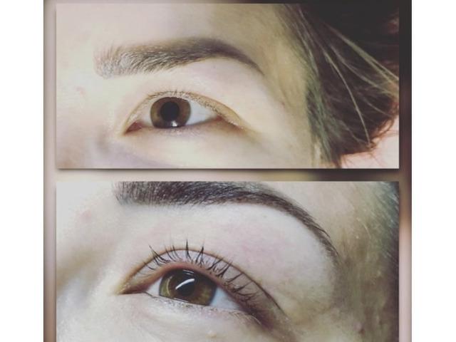 Наращивание ресниц/ламинирование/ботокс. Перманентный макияж (брови, веки, губы) - 4