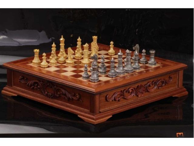 Серебряные шахматы - 1