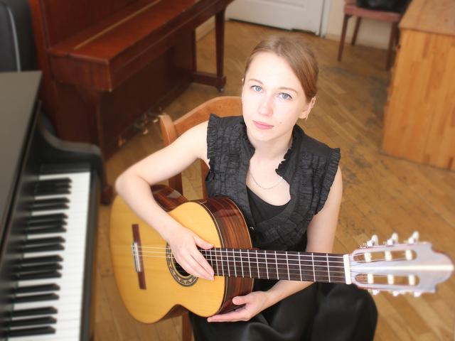 Уроки игры на гитаре за уроки английского - 1