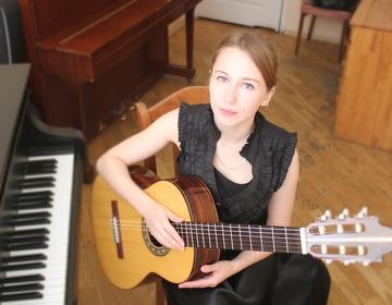Уроки игры на гитаре за уроки английского