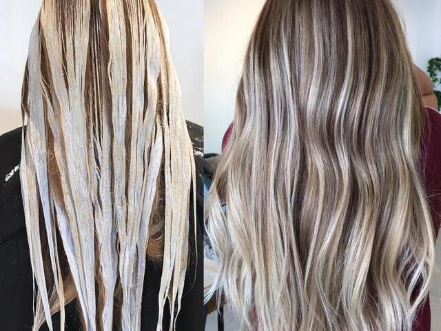 Окрашивание волос. Коррекция волос - 3