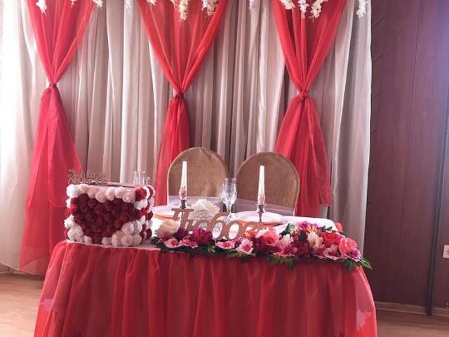 Свадьба в красном цвете - 1