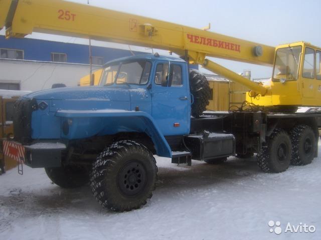 Услуги автокрана 25 тонн - 1