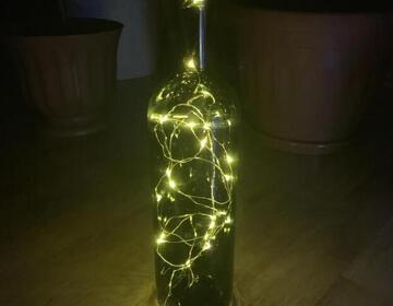 Бутылка светильник - Изображение 2