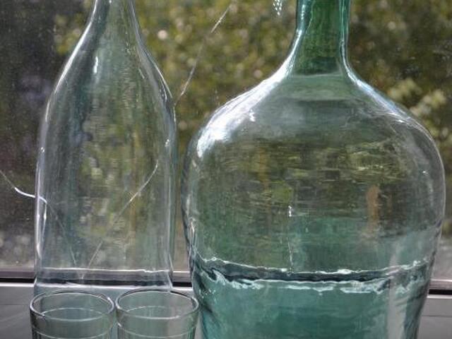 Старинные бутылки и бутыли для самогона - 2
