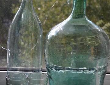 Старинные бутылки и бутыли для самогона - Изображение 2