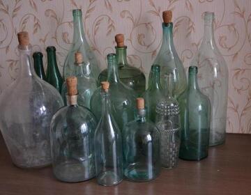 Старинные бутылки и бутыли для самогона - Изображение 3