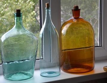 Старинные бутылки и бутыли для самогона - Изображение 4