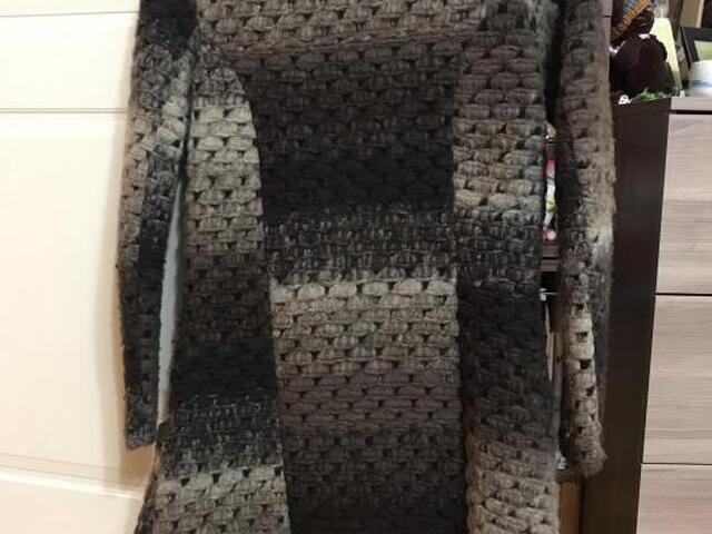 Вязаное пальто - 2