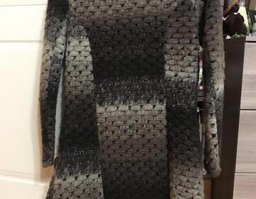 Вязаное пальто - Изображение 2