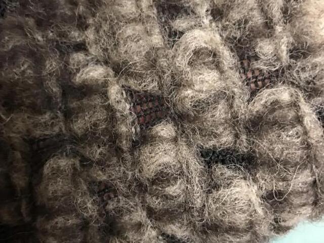 Вязаное пальто - 3