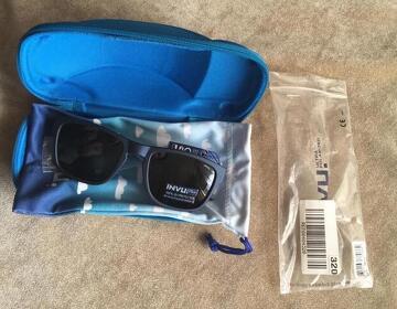 Солнцезащитные детские очки+чехол. Новые. Invu