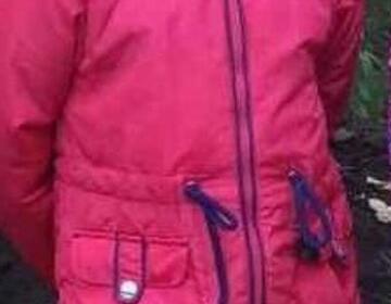 Куртка для девочки осень-весна р. 110
