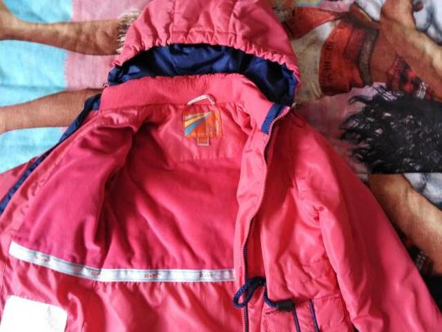 Куртка для девочки осень-весна р. 110 - 2