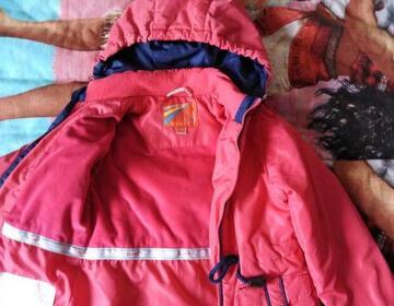 Куртка для девочки осень-весна р. 110 - Изображение 2