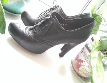 Ботинки (ботильоны) 39р натуральная кожа