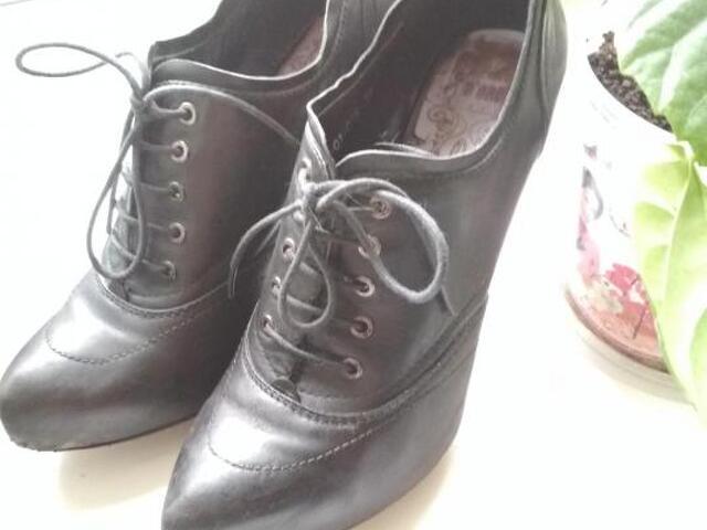 Ботинки (ботильоны) 39р натуральная кожа - 3
