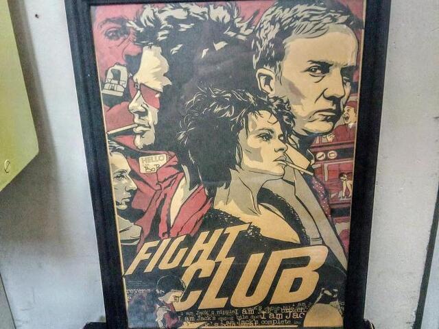 постер кино Криминальное чтиво, Крестный отец, ЖЧ - 2