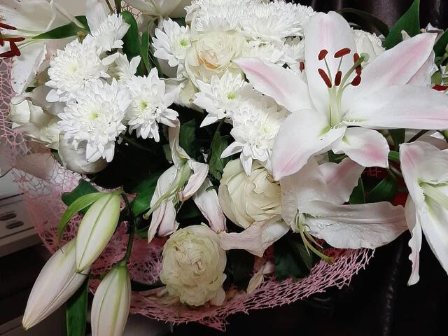 Цветы, букеты, композиции - 1