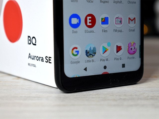 смартфон bq aurora se - 1