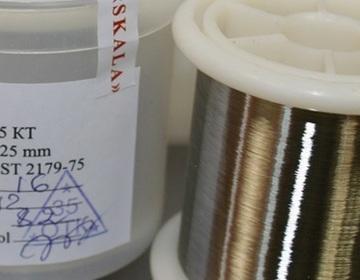 Никелевая проволока ДКРНТ 0,025 КТ НП2 - Изображение 2