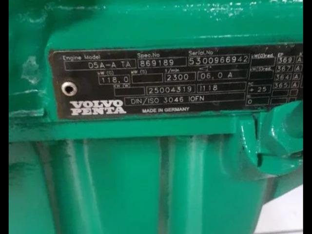 Дизельный двигатель VOLVO PENTA D5A-A ТА - 1