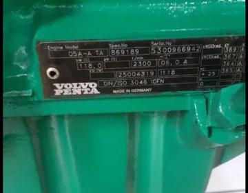 Дизельный двигатель VOLVO PENTA D5A-A ТА