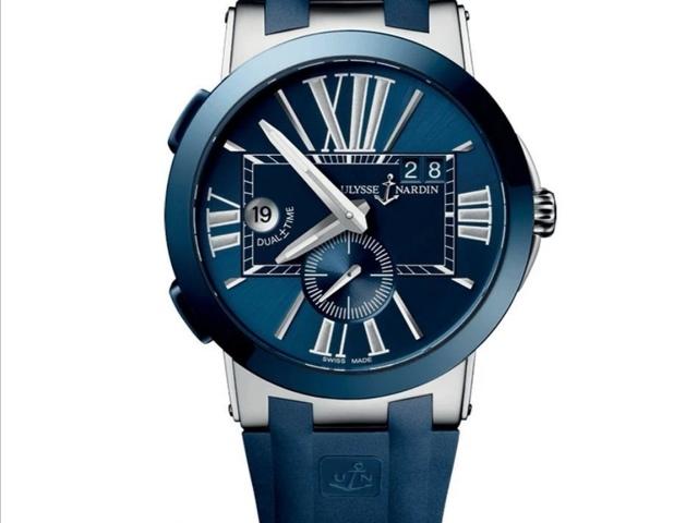 оригинальные часы ULYSSE NARDIN DUAL TIME 43 MM - 3
