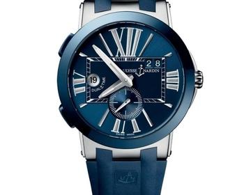 оригинальные часы ULYSSE NARDIN DUAL TIME 43 MM - Изображение 3
